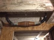Texas long horns over the door